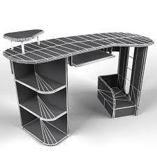 مدل سه بعدی میز-3D model