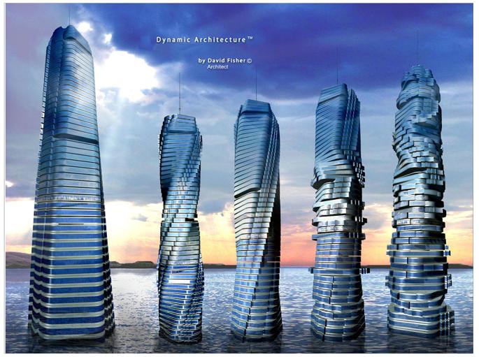 سازه های دینامیکی