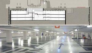 کاربرد دیوار دیافراگمی در احداث پارکینگ