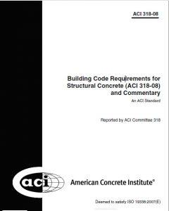 آیین نامه ACI 318-08