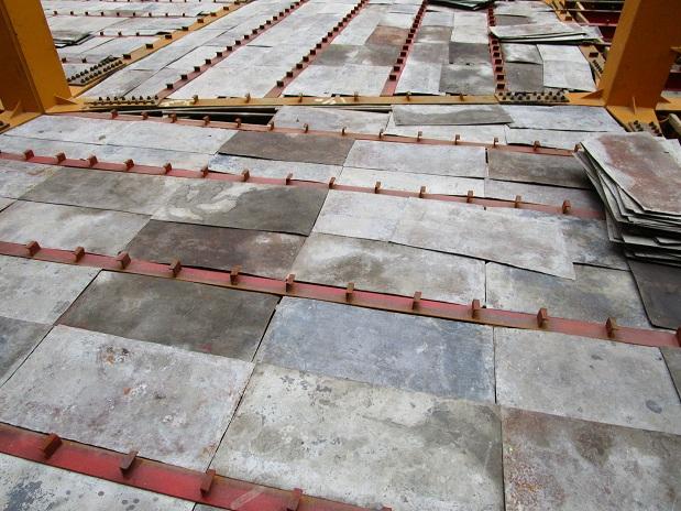 مراحل قالب بندی تا بتن ریزی سقف کامپوزیت